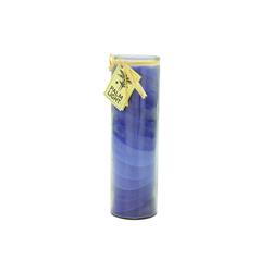 yogabox Duftkerze NUANCE Kerze BLAU ca. 20 cm