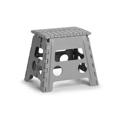 Zeller Present Klappstuhl, Kunststoff, klappbar, Sitzhöhe 32 cm