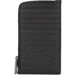 Boss Crosstown Kreditkartenetui Leder 8 cm black