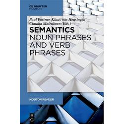 Semantics - Noun Phrases and Verb Phrases: eBook von
