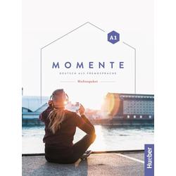 Momente A1. Audio-CDs und DVD zum Kurs- und Arbeitsbuch