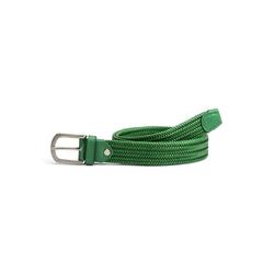 Walbusch Damen Dehn-Gürtel Grün einfarbig 100cm 100cm