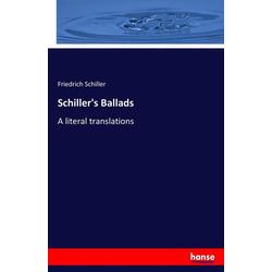 Schiller's Ballads als Buch von Friedrich Schiller