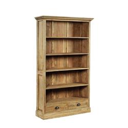 Bücherregal aus Teak Massivholz Landhaus
