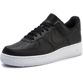 Nike Men's Air Force 1 '07 black/ white, 44.5