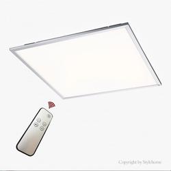 Natsen Deckenleuchte, 40W Ultra Slim dimmbar Panel LED Deckenlampe, Silber wandlampe Bürolampe 60x60cm (Enegiee A) Quadrat - 60 cm x 4.5 cm