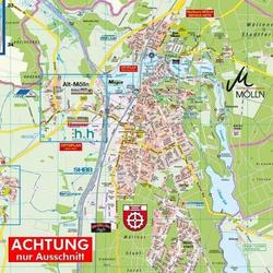 Mölln und Amt Breitenfelde 1 : 25.000 Posterplan