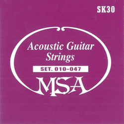MSA Musikinstrumente Westerngitarrensaite SK 30 010-047