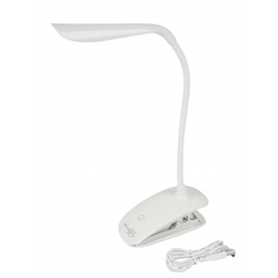 BO-CAMP Leselampe Klemmleuchte Touch LED