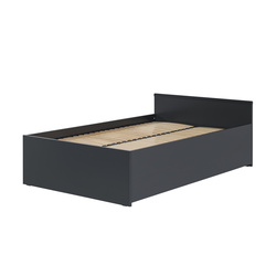 Basispreis* VOX Bett mit klappbarem Lattenrost  Young Users ¦ schwarz