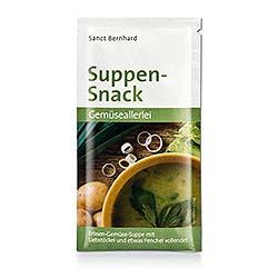 """Suppen-Snack """"Gemüseallerlei"""""""