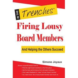 Firing Lousy Board Members als Taschenbuch von Simone Joyaux