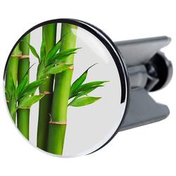 SANILO Stöpsel Bambus, für Waschbecken, Ø 4 cm grün