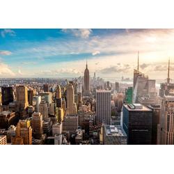 Fototapete New York City Skyline, glatt 3,5 m x 2,6 m