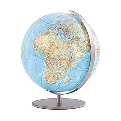 Columbus Globen: Tischglobus Duo Leuchtglobus Durchmesser 30 cm - Buch