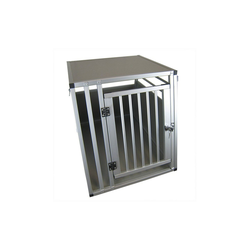 Airbrush-City Tragetasche XXL Hundebox Transportbox Aluminium 92 x 65 x 66cm Hundetransportbox Gr XXL (1-tlg)