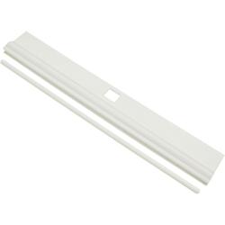 Sichtschutzbefestigung Lamellenhalter, GARDINIA, Lamellenvorhänge, (10-tlg), Serie Lamellenvorhänge