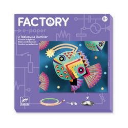 DJECO Lernspielzeug Factory - Cyborgs bunt