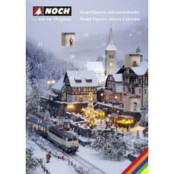 NOCH TT Figuren Adventskalender Modellbahn