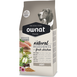 Ownat Classic Dog Light (ehemals Optima) Hundefutter  (20 kg)