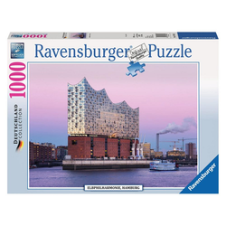 Ravensburger Puzzle Elbphilharmonie Hamburg, 1000 Puzzleteile