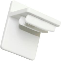 Sichtschutzbefestigung Plissee Klebeträger, WOHNIDEE-Kollektion, Plissees, (4-tlg)