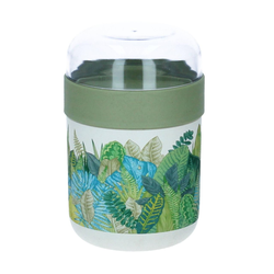 Chic Mic Bioloco Snack 2 Go Becher Lunchpot exotic leaves