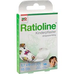 RATIOLINE kids Pflasterstrips 15 St
