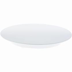 SCHNEIDER Tortenplatte, Melamin, weiß, Kuchenplatte aus Melamin, Höhe: 30 mm, Ø 240 mm