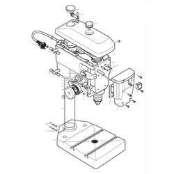 PROXXON 28124-15 Abdeckhaube für Tischbohrmaschine TBH