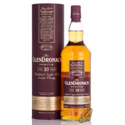 Glendronach 10 YO Forgue Whisky 43% vol. 1,0l
