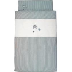 Kinderbettwäsche Sterne, Sterntaler®, mit Sternen grau