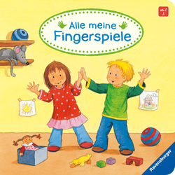 Alle meine Fingerspiele als Buch von Volksgut