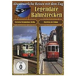 Legendäre Bahnstrecken - Ferrovia Circumetnea Sicilia / Electricos de Lisboa - DVD  Filme