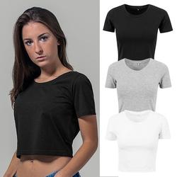 Damen Cropped T-Shirt   Build Your Brand