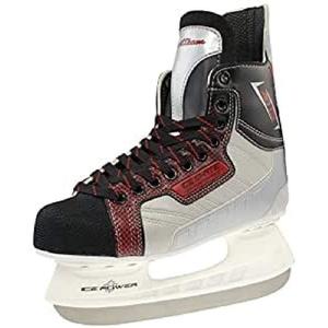 SportTeam Herren Schlittschuhe Eishockey, Schwarz/Weiß, 44