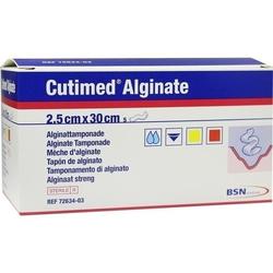 CUTIMED Alginate Alginattamponade 2,5x30 cm 5 St.
