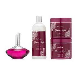 M.ASAM® Glowing Night Duschgel, Creme, Peeling & EdP 4tlg. Set