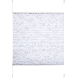Plissee Ausbrenner, Liedeco, Lichtschutz, ohne Bohren, verspannt, Klemmfix-Plissee Ausbrenner Dekor Floral 60 cm x 130 cm