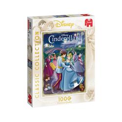 Jumbo Spiele Puzzle 19485 Disney Classic Collection Cinderella, 1000 Puzzleteile bunt