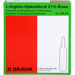 L-ARGININ-HYDROCHLORID 21% Elek.-Konz.Inf.-Ls 100 ml