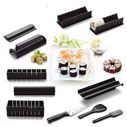 PRECORN Sushi-Roller 11tlg. Sushi Set Sushi Maker Set Perfekt für Sushi DIY