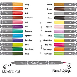 24 ONLINE® Calli.Brush Brush-Pens   2,0 mm