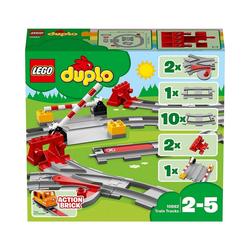 LEGO® Spielbausteine LEGO® DUPLO® 10882 Eisenbahn Schienen