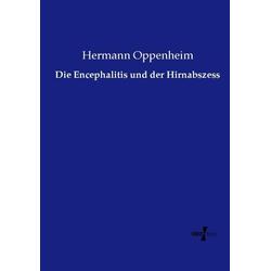 Die Encephalitis und der Hirnabszess als Buch von Hermann Oppenheim