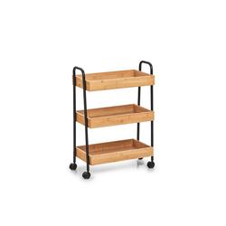 HTI-Living Küchenwagen Beistellwagen Bambus/Metall