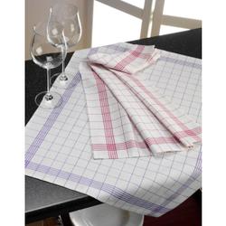 Gözze Baumwoll-Geschirrtuch, 50 x 70 cm, Küchentücher aus 100 % Baumwolle, 1 Stück, rot