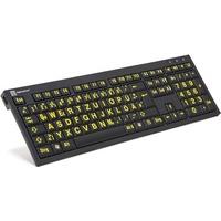 Logickeyboard LKB-LPYB-BJPU-DE Tastatur USB QWERTZ Deutsch Schwarz