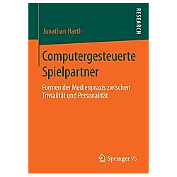 Computergesteuerte Spielpartner. Jonathan Harth  - Buch