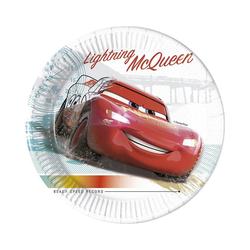 Procos Teller Cars 3 8 Pappteller 23 cm Design Cars High Speed